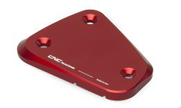 "fluid container cover ""Touch"" red CNC Racing for Ducati Multistrada, Streetfighter  – Image 3"