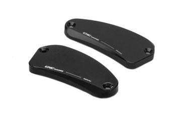 """Flüssigkeitsbehälterdeckel """"Touch"""" schwarz CNC Racing für MV Agusta – Bild 1"""