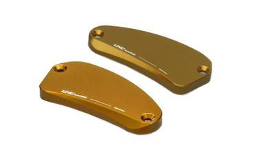 "fluid tank caps ""Touch"" gold CNC Racing for MV Agusta – Image 1"