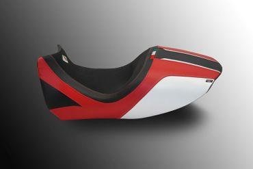 seat cover black/red Ducabike for Ducati Diavel