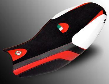 Sitzbezug schwarz/rot Ducabike für Ducati Scrambler 800/400