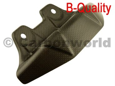 rear chain guard carbon mat for Ducati Diavel – Image 1