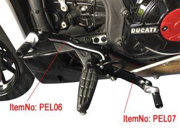 Bras oscillant talon noir CNC-Racing Ducati XDiavel – Image 2