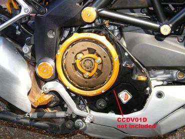 Druckfeder gold Ducabike für Ölbadkupplung für Ducati Diavel, XDiavel – Bild 2