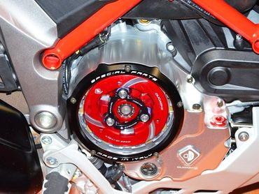 spingidisco frizione rosso Ducabike per Ducati Diavel, XDiavel – Image 3