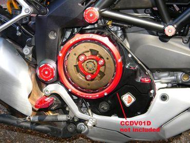 Druckfeder rot Ducabike für Ölbadkupplung für Ducati Hypermotard 939 – Bild 2