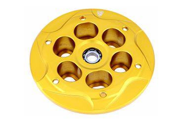Druckplatte Antihoppingkupplung gold CNC Racing für MV Agusta – Bild 1