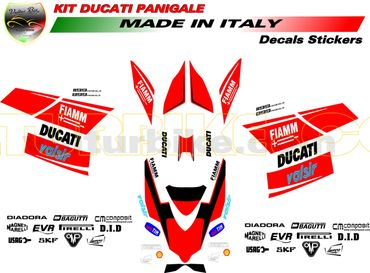 "decal sticker kit ""Monoposto"" for Ducati 899 / 1199 Panigale – Image 2"
