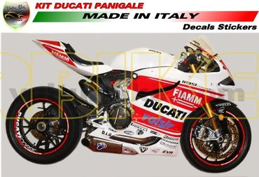 "decal sticker kit ""Monoposto"" for Ducati 899 / 1199 Panigale – Image 1"