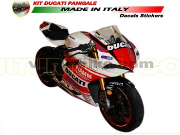 "decal sticker kit ""Monoposto"" for Ducati 899 / 1199 Panigale – Image 4"