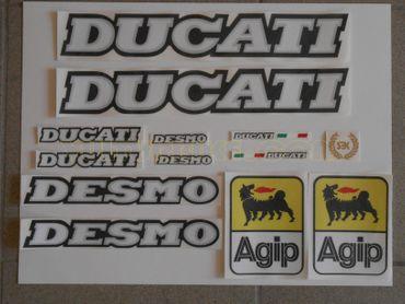 """stickers """"Desmo"""" pour Ducati"""