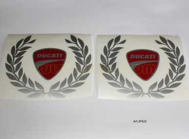 "sticker ""laurel wreath"" for Ducati"