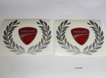 """stickers """"couronne de laurier"""" pour Ducati"""