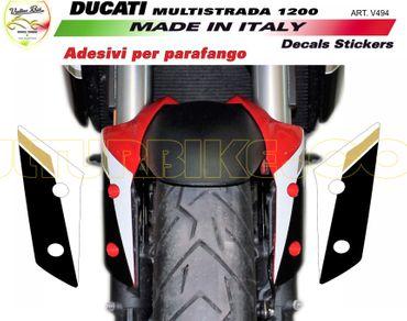 Autocollant le garde-boue pour Ducati Multistrada 1200 (2010-2017)