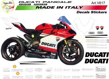 "decal sticker kit ""Ducati-Racing"" for Ducati 959 Panigale"