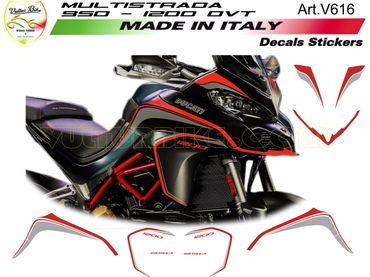 Aufkleber Kit für Ducati Multistrada 950/1200 DVT
