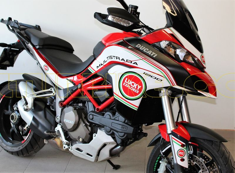 Details About Stickers Kit Lucky Explorer For Ducati Multistrada 950
