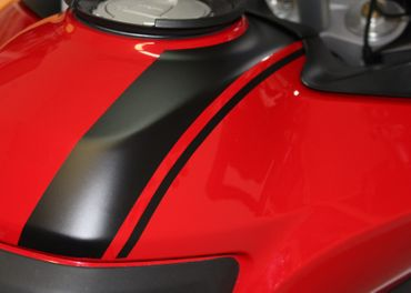 Aufkleber Tank schwarz für Ducati Multistrada 950/1200/1260  (2015-) – Bild 1