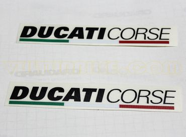 "sticker ""Ducati Corse"" black for Ducati – Image 2"