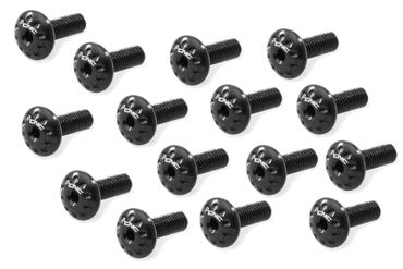 Screw kit black CNC Racing for Ducati Panigale