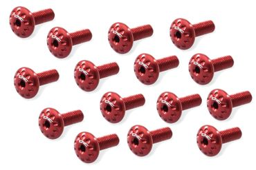Screw kit red CNC Racing for Ducati Panigale