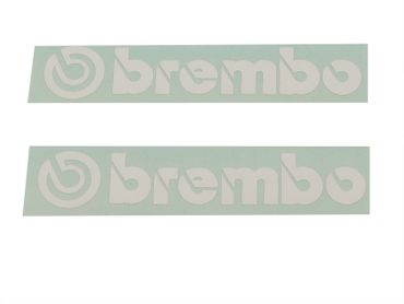 "sticker ""brembo"" white for Ducati"