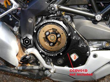 plaque de pression noir Ducabike pour Ducati Multistrada 950 / 1200 – Image 2