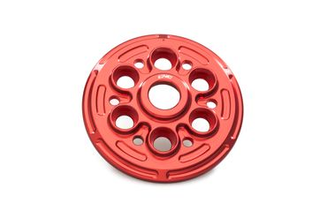 Druckplatte Corse rot CNC Racing für Ducati 1098 / 1198, Streetfighter 1098
