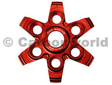 spingidisco frizione racing rosso CNC Racing per Ducati Multistrada, SuperSport