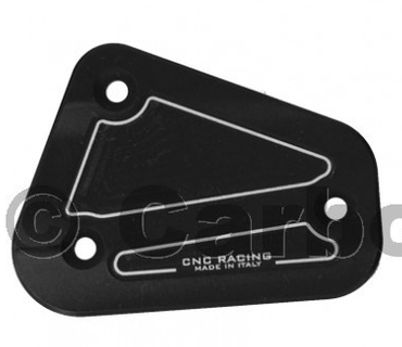 clutch fluid reservoir cover black CNC Racing for Ducati