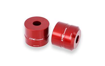 Alzamanubrio rosso +30 mm CNC Racing per Ducati Multistrada 1200 – Image 1