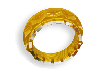sprocket flange nut Bicolor gold / silver CNC Racing for MV Agusta – Image 1