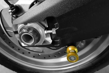 Supporti Cavaletto oro 8mm CNC Racing per Ducati 950 / 1200 Multistrada – Image 3