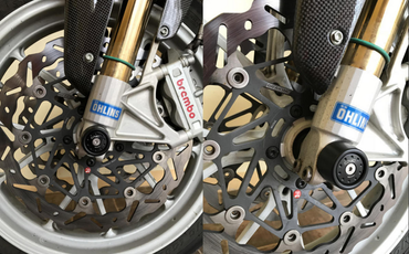 groupe piston avant or CNC Racing pour Ducati Monster S4R S – Image 3