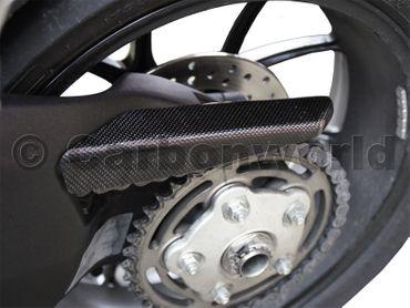 Protège chaîne en carbone mate pour Ducati 848 Streetfighter 848 – Image 4