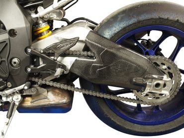 swing arm cover carbon for Yamaha YZF-R1 – Image 4