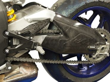 swing arm cover carbon for Yamaha YZF-R1 – Image 6