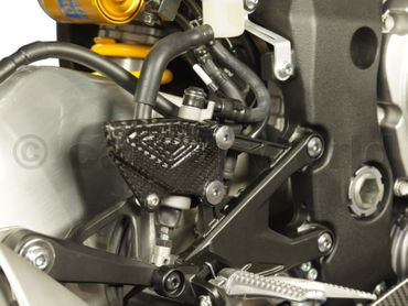 heelguards carbon for Yamaha YZF-R1 – Image 3