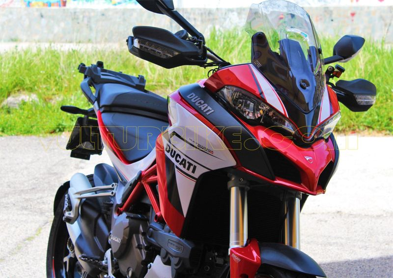 Sticker Kit Blackwhite For Ducati 1260 Multistrada