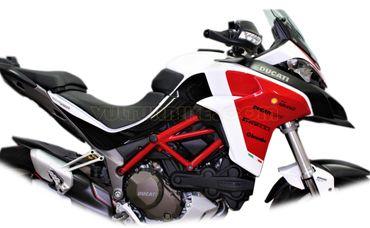 "Aufkleber Kit ""Pikes Peak 2018"" für Ducati Multistrada – Bild 3"