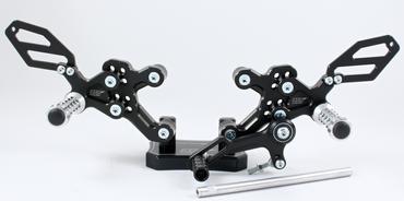 Adjustable rear sets arp-racingparts for Ducati 748-916-996-998 – Image 1