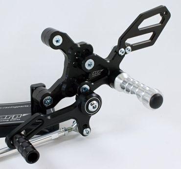 Fußrastenanlage arp-racingparts für Ducati 848/1098/1198 – Bild 2