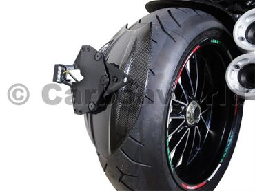 wheel cover carbon Ducati Diavel – Image 2