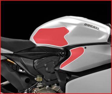 Grip Tankpads schwarz für Ducati Panigale – Bild 2