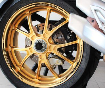 decal sticker kit wheel stripes black for Multistrada 1200/1260 – Image 4