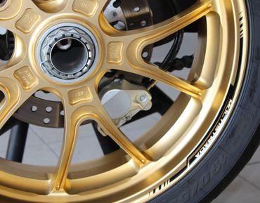 decal sticker kit wheel stripes black for Multistrada 1200/1260 – Image 5