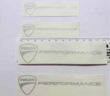 "sticker ""Ducati logo performance"" for Ducati"