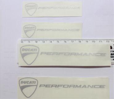 """Aufkleber """"Ducati logo performance"""" für Ducati"""