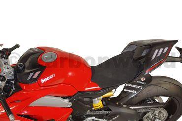 Tankabdeckung Carbon matt race für Ducati Panigale V4 – Bild 6