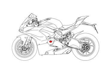 Inspektionsdeckel CNC Racing für Ducati V4 Panigale – Bild 6